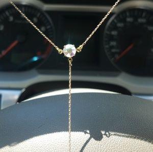 Jewelry - Handmade Swarovski T Shirt Necklace